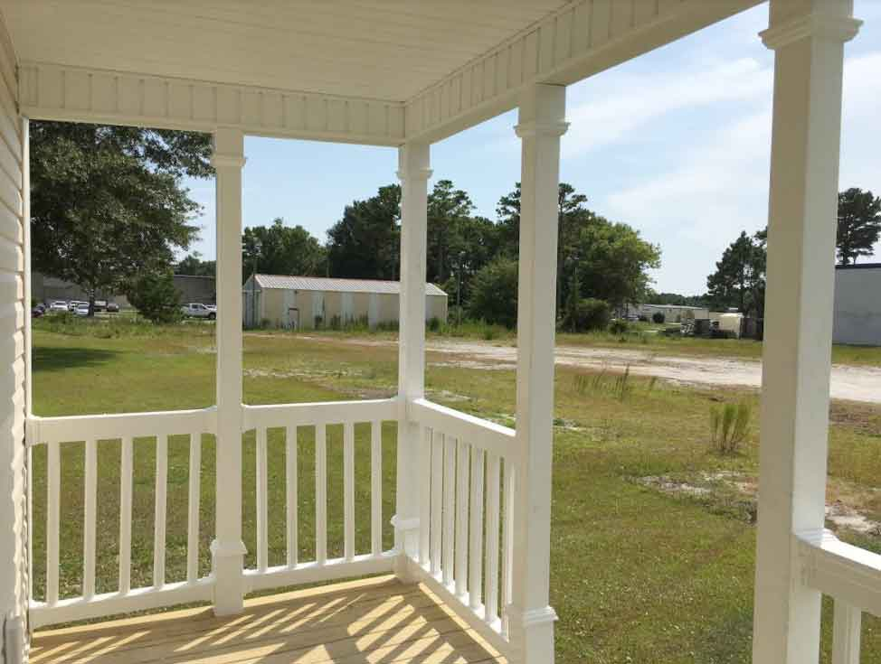 Front Porch Single Wide Sale Morehead City NC