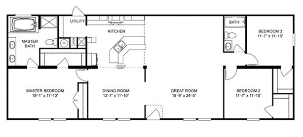 Intimidator Floor Plan NC