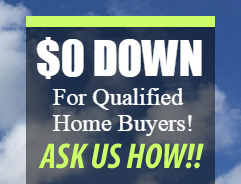 Zero Down for Qualified Home Buyers