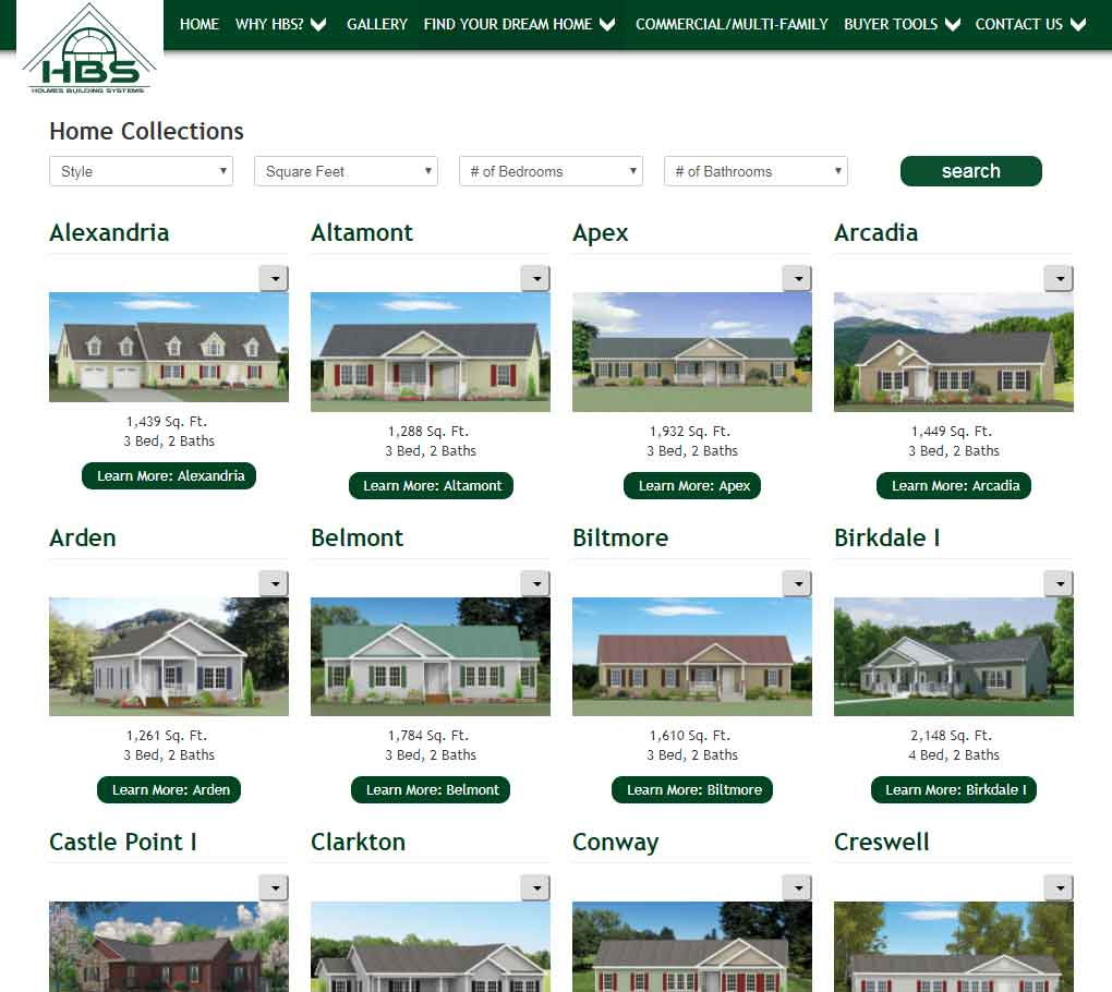 Featured Modulars from Holmes Building Systems