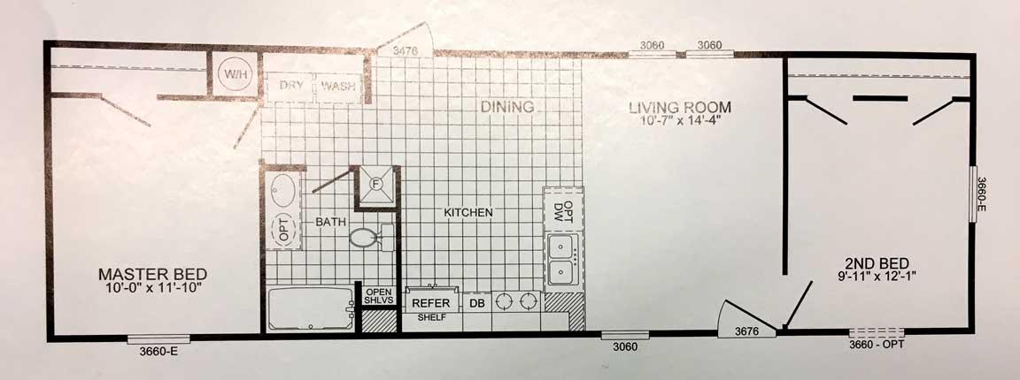 Palmetto Floor Plan