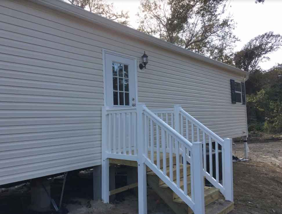 Front Porch Single Wide Down East Homes Of Morehead City