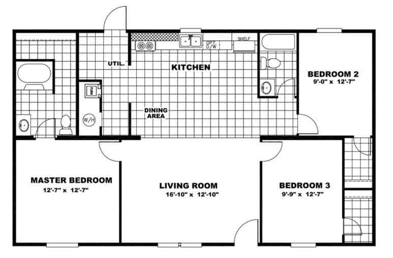 EXCITEMENT - TRU Homes Floor Plans