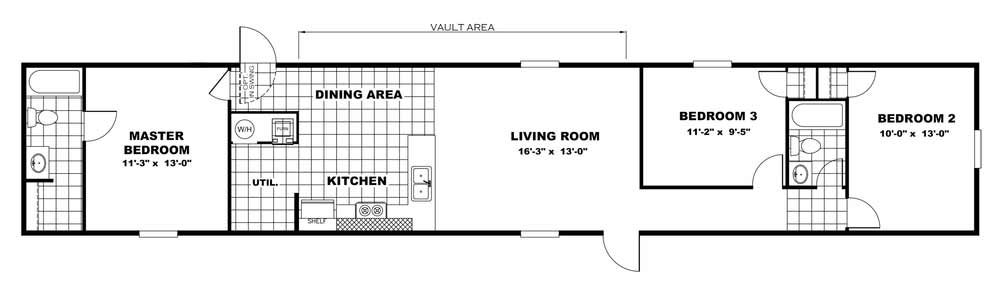 GLORY - TRU Homes Floor Plan