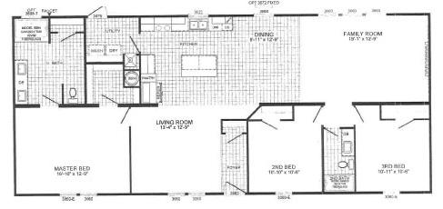 Carolinian - Cavalier Homes - Down East Homes of Morehead City NC