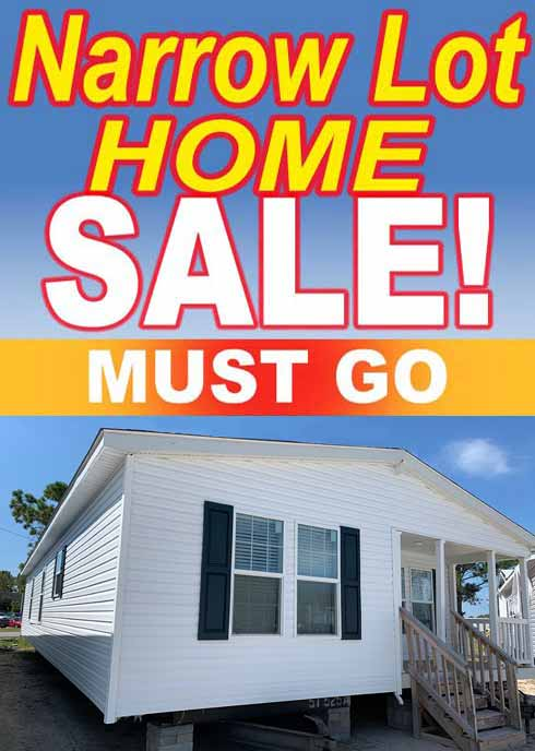 Narrow Lot 3 bedroom Sale - Morehead City NC
