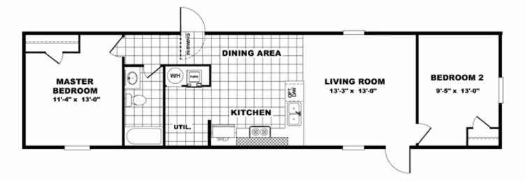 Bliss Floor Plan - Tru Homes
