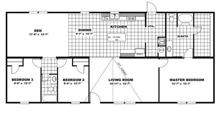 Jubilation Floor Plan - TRU Homes