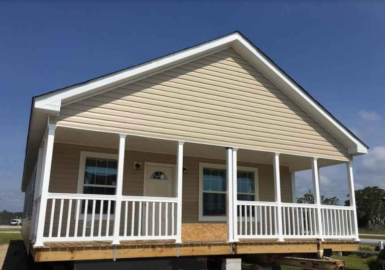 Narrow Lot Modular Display Home - Down East Homes of Morehead City NC