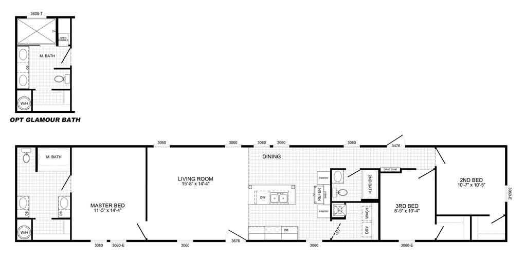 Pacesetter Floor Plan
