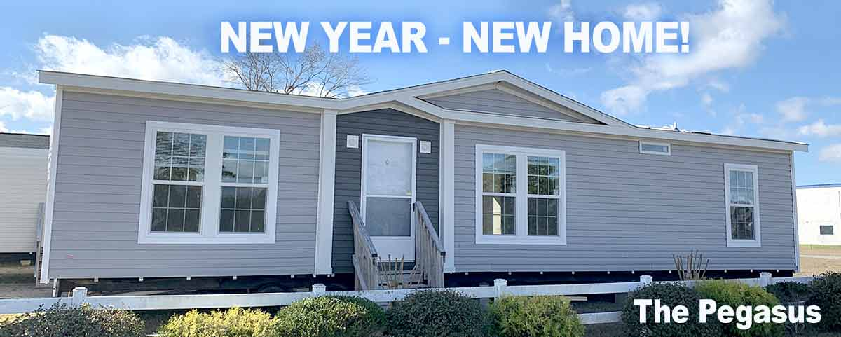 Pegasus Double Wide - Down East Homes of Morehead City NC