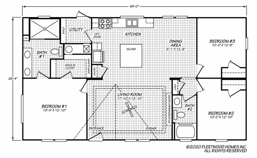 Pegasus floor plan - Morehead City