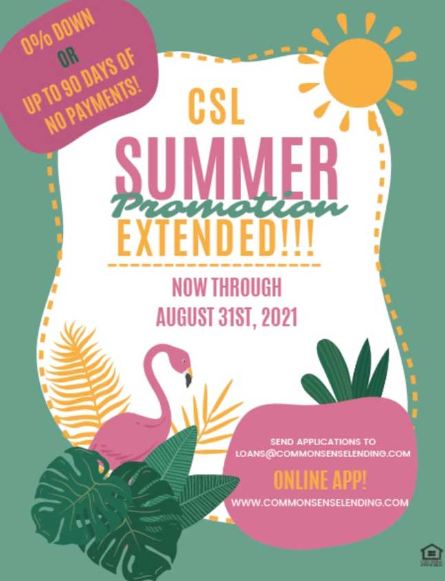 CSL Financing Promotion NC