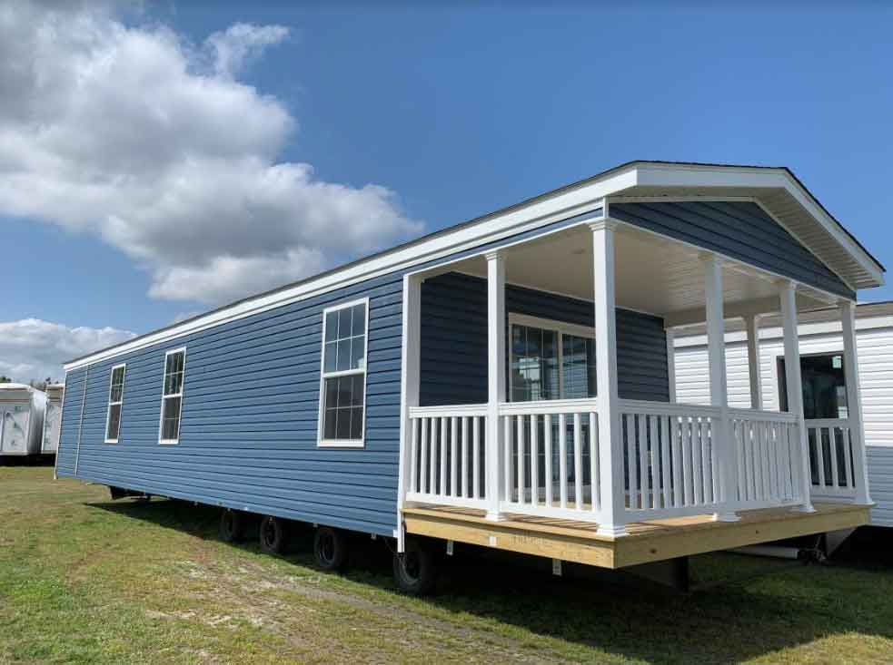 2 Bed Single Wide with Porch - Morehead City NC